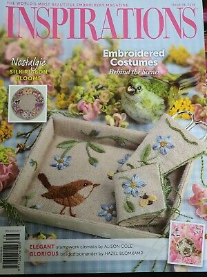 £6.50 • Buy Inspirations Embroidery Magazine Issue 78, 2013. Published In Australia.