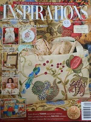 £6.50 • Buy Inspirations Embroidery Magazine Issue 62, 2009. Published In Australia.
