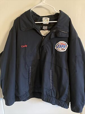 $42.99 • Buy Miller Lite Work Insulated Jacket Size 3xl Long!