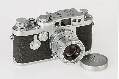 £650 • Buy Classic Leica Lllg With 5 And 3.55cm Lenses, Immaculate, A Collector's Dream