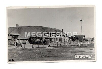 £2.99 • Buy Sussex  Chichester : East Wittering The Old Barn Hotel 1965 Real Photo Postcard