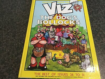 £5 • Buy Book - Viz The Dog's Bollock's By Chris And Simon Donald, Graham Dury And SThorp