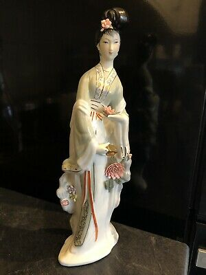 £20 • Buy Chinese Rare Porcelain Asian Lady C Wood And Sons Stamped
