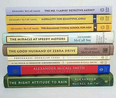 AU54.40 • Buy Alexander McCall Smith Lot Of 9 Books Mixed No 1 Ladies Detective Agency Mystery