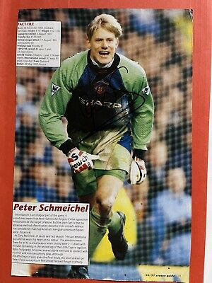 £9.99 • Buy Peter Schmeichel - Manchester Utd Signed Picture