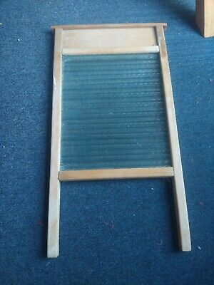 £8 • Buy Vintage Glass Washboard. Good Condition, Over 70years Old.