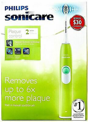 AU69.22 • Buy Philips Sonicare HX6211/48 Plaque Control Series 2 Green Sonic Toothbrush