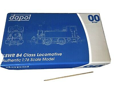 £90 • Buy 00 Gauge Dapol LSWR B4 0-4-0T No. 30089 BR Black With Early Crest