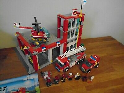 £55 • Buy Lego City 60004 - Fire Station - 100% Complete, Instructions