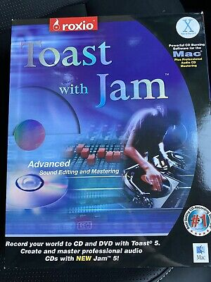 £9.99 • Buy Roxio Software Toast With Jam 5