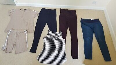 £9.60 • Buy Maternity Clothes Bundle Size 8-10. New Look, H&M, Boohoo, Asos