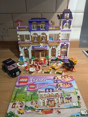 £49.99 • Buy Lego Friends Heartlake Grand Hotel 41101 Complete Unboxed Rare