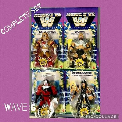 $41 • Buy New! Masters Of The WWE Universe MOTU Wrestling COMPLETE SET! Wave 6 🔥🔥🔥