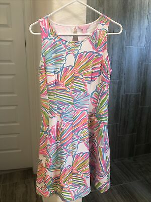 $35 • Buy Lilly Pulitzer Felicity Fit And Flare Dress Size Medium