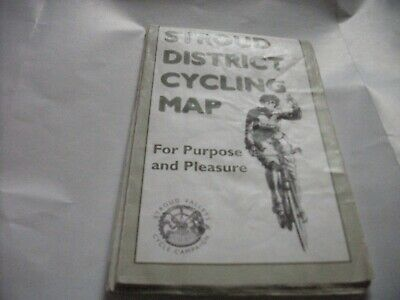 £4.40 • Buy Stroud District Cycling Map 1st Edition 2007 Folded To 4''x 6 1/4'' X 3/16''