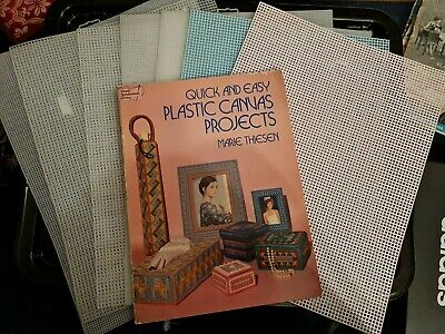 £12 • Buy Plastic Canvas Sheets X 7 & Projects Book