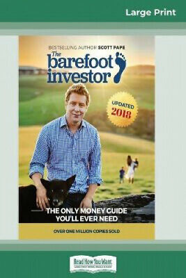 AU67.26 • Buy The Barefoot Investor: The Only Money Guide You'll Ever Need (16pt Large Print