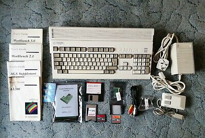 £450 • Buy Commodore Amiga 1200 With 8MB RAM Expansion & FPU/clock, 8GB CF Card