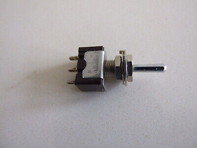 £1.99 • Buy SPDT CO NON Latching Centre Off (on Off On) Miniature Toggle Switch 3 Amp 250V