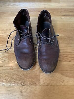 $34.99 • Buy Distressed Heavily Used Red Wing Shoes 3141 12D Mens Chukka