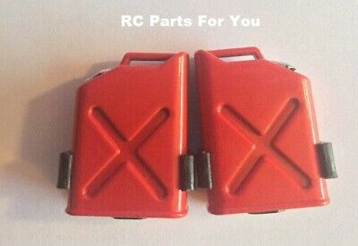 £5.50 • Buy 1/10 Scale RC Rock Crawler Monster Truck Body Shell Fuel Gas Tank Cans Red