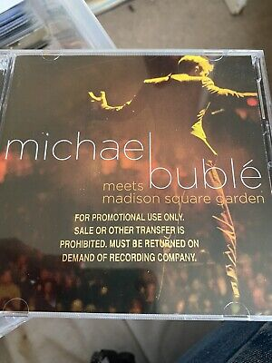 £5 • Buy Michael Buble - Meets Madison Square Garden - Promo Stamped CD