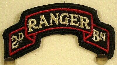 £3.58 • Buy US Army Second Battalion 2nd BN RANGER Full Color Tab Insignia Patch