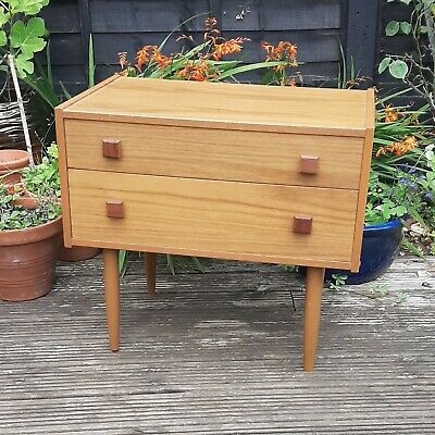 £89 • Buy Versatile Retro Bedside Table, Telephone Table, Chest Of Drawers Or Hall Table