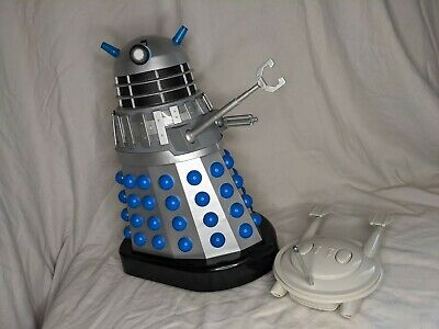 £165 • Buy Product Enterprise 12 Inch RC Dalek Invasion Earth Silver And Blue