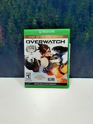 AU26.96 • Buy Overwatch: Game Of The Year Edition Microsoft Xbox One Game