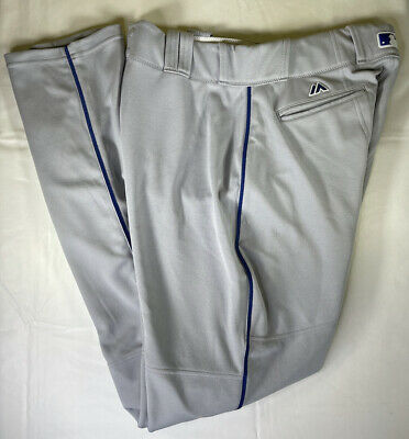 $74.99 • Buy Majestic MLB Authentic 2017 Los Angeles Dodgers #5 Seager Baseball Pants Grey