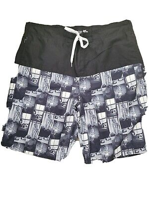 £3 • Buy Mens Shorts/swim/beach, Funky Photo Girl Print Fully Lined, Size  Large Ex Cond
