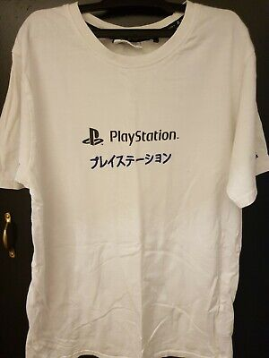 £0.99 • Buy White Offcial Playstation T Shirt Small