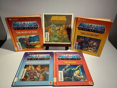 $45 • Buy Lot Of 5 Masters Of The Universe - Golden Book