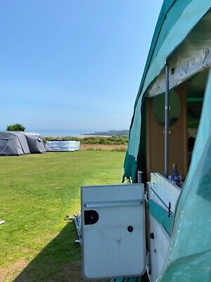 £2995 • Buy Pennine Folding Camper Trailer Tent Pathfinder 6 Berth With Toilet And Full Oven