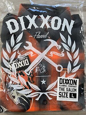 """$119.99 • Buy DIXXON FLANNEL CO.  The Salem"""" Size Large L SOLD OUT! New In Bag!"""