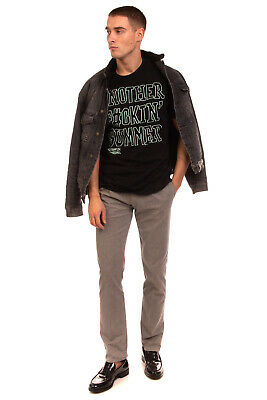 £10.99 • Buy FRANKLIN & MARSHALL T-Shirt Top Size S Coated Inscriptions Crew Neck