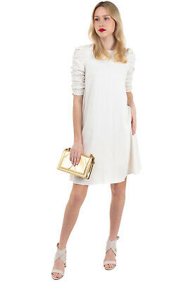 $55.60 • Buy RRP €475 ZIMMERMANN Trapeze Dress Size 1 / S Fully Lined Textured Zipped Back