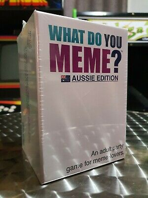 AU38.16 • Buy What Do You Meme? - Aussie Edition - Card Game - Brand New Sealed