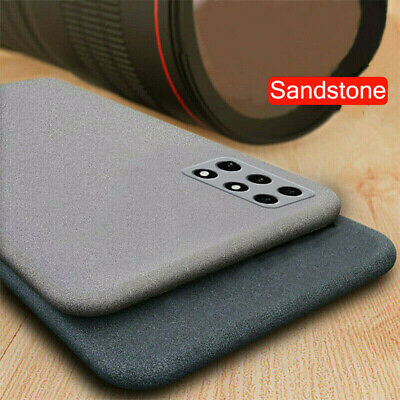 AU9.42 • Buy For OnePlus Nord N10 8T 8 7T Pro Sandstone Matte Silicone Soft Phone Case Cover