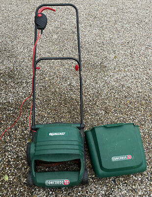 £15 • Buy Qualcast Concorde 32 Cylinder Electric Lawnmower **With Roller**
