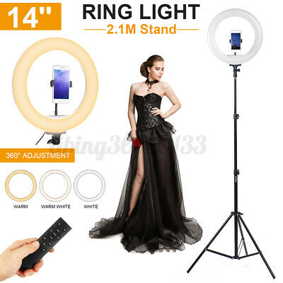 AU20.31 • Buy 10  LED Ring Fill Light Dimmable Lighting Phone Selfie Stand Makeup Live Lamp AU