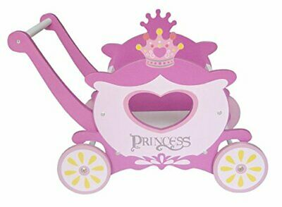 £30.07 • Buy Children's Princess Carriage Trolley Walker Toy Box Push Along/Baby