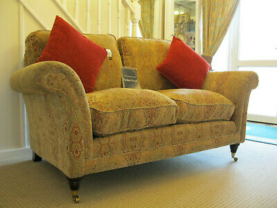 £899 • Buy Parker Knoll Burghley 2 Seater Sofa In Baslow Medallion Gold Fabric(2 Avialable)