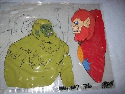 $12.99 • Buy Original 1980s He-Man Masters Of The Universe Production Animation Cel Set #4