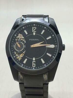 $219 • Buy Fossil Automatic Me-1001 Twist  Stainless Black Wrist Watch From Japan