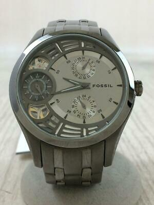 $180 • Buy Fossil Automatic Slv Me1012 Twist Automatic  Gray Wrist Watch From Japan