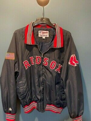 $40 • Buy Authentic Boston Red Sox Lightweight Team Majestic Team Jacket - XL