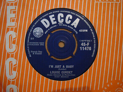£3.99 • Buy Louise Cordet,  I'm Just A Baby,  Decca Records 1962 Mint-/mint
