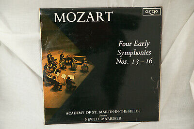£25 • Buy ZRG 594 Mozart Four Early Symphonies Nos. 13-16 / Marriner / ASMF OVAL
